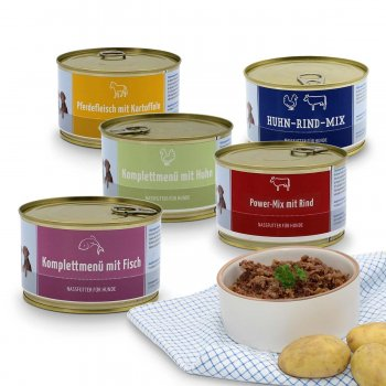 Alimento umido – bundle medio